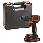 Black & Decker 18V Lithium Ion Drill Driver in Kit Box