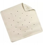 Blue Canyon Rubber Bath Mat - Cream