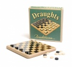 Ackerman Retro Wooden Draught Set