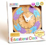 Lets Learn Wooden Clock