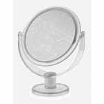 Blue Canyon Plastic Round Mirror Clear - Medium