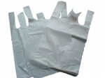 Premium white vest small carrier bag 9 x 14 x 18(225X345X450mm)PK100