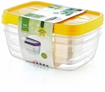 HOBBY 3 PC TREND RECT FOOD SAVER 2 LT