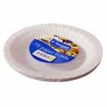 Kingfisher 15 Pack of 8 inch White Paper Disposable Bowl [KCP19B]