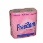 Freedom Pk 4 Toilet Paper Pink X 10