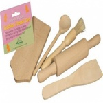 Apollo Beech Wooden Kiddies Utensil Set