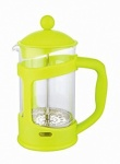 'COLOURS'  6 CUP CAFETIERE - LIME