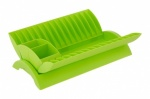 'COLOURS' PLATE DRAINER - LIME