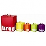 'COLOURS' 5 PCS STORAGE SET