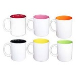 'COLOURS' 6pc ESPRESSO MINI MUG SET - 110ml