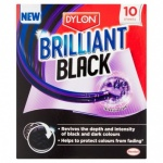DYLON Brilliant Black in wash black colour enhancer 10 sheets