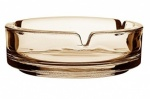 Apollo Glass Ashtray Smoked 10.5cm