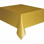 Plastic Table Cover 54 x 108 - GOLD