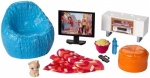 Barbie Furniture & Accessories - Seat & TV