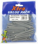75mm Round Nails Extra Val (400g)