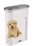 **** Curver Dry Pet Food Container - 1.5kg - Dog White
