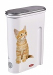 **** Curver Dry Pet Food Container - 1.5kg - Cat White