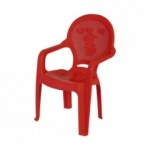 CHILDREN CHAIR WITH ARMHOLDER - 5 Assorted Colours