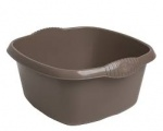****  Casa 39cm Rectangular Bowl Mocha