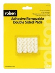 Rolson 12Pcs Double Sided Adhesive Pads 61312
