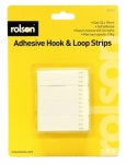 Rolson 12Pcs Hook & Loop Strips 61313