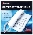 Classic Telephone - White - DBL BLISTER
