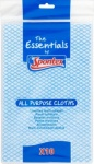 Spontex Essential  pack of 10 all purpose cloths