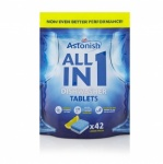 Astonish All in 1 Dishwasher Tablets 100's