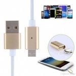 AQ light up charge and sync cable - Micro USB - Gold
