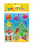 Sea Life Stickers 10x11.5cm