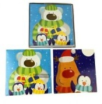 12 Portrait Cards - Cute Bears (PBAR)