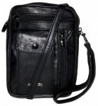 Gents Bag Sheep Nappa Wrist Bag with Strap (GHS1459)