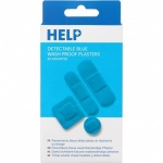 Manicare Help - 20 Assorted Sterile Blue Washproof Plasters