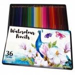 Watercolour Pencils 36pc Tin