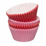Coloured muffin cases - pack 48