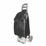 Metaltex Aster Shopping Trolley - Black Dots - 35 L