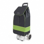 Metaltex Lily Shopping Trolley - Black/Lime - 53 L