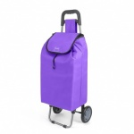 Metaltex Daphne Shopping Trolley - Purple - 40 L