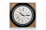 40CM ANTIQUE STYLE BLACK CLOCK