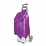 Metaltex Aster Shopping Trolley - Fuxia Dots - 35 L