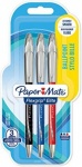 Paper Mate Flexgrip Elite RT Retractable Ball Pen Large Tip 1.4mm - Assorted Standard Colours - Pack of 3
