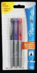 Paper Mate Flair Ultra Fine Fibre Tip Pen 0.5mm - Assorted Colours - Pack of 3