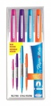 Paper Mate Flair Ultra Fine Fibre Tip Pen 0.5mm - Assorted Fun Colours - Wallet of 4