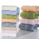 Solid Jacquard Face Towel 2Pc