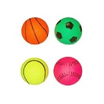 BALL SPORTS 6.2CM 4 ASTD DESIGNS
