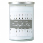 Yankee Candle LARGE JAR SILVER TOP Twilight Sky