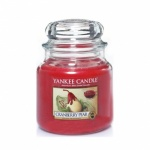 YANKEE CLASSIC JAR MED CRANBERRY PEAR