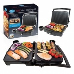 180¯ Duo Health Grill - Press or Open Grill