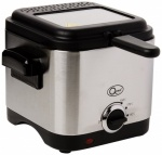 1.5L Brushed Stainless Steel Deep Fryer