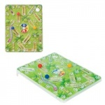 **** Snakes & Ladders Travel Game